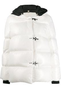 Fay Hooded Padded Jacket - Branco