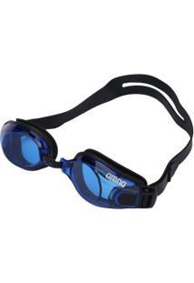 Óculos De Natação Arena Zoom X Fit - Adulto - Preto/Azul