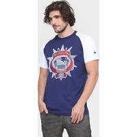 Camiseta New Era Nfl Vintage Stadium New England Patriots - Masculino cbfd25757c906