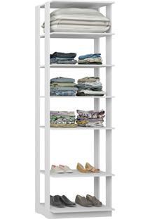 Estante C/ Prateleiras Clothes 700 – Be Mobiliários - Branco