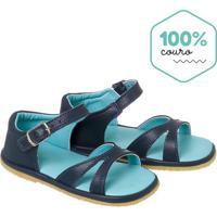 379e70de4 Sandália Para Menina Azul Azul Marinho Fivela infantil   Shoes4you