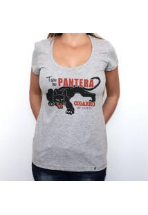Tapa Na Pantera - Camiseta Clássica Feminina