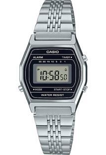 Relógio Digital Casio Unissex - La690Wa1Df 9638480 Prateado
