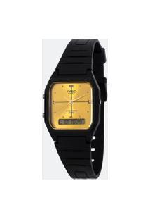 Relógio Unissex Casio Aw-48He-9Avdf-Br Analógico/Digital | Casio | Dourado | U