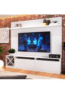 Estante Home Para Tv Até 80 Polegadas Bianca Branco