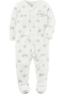 Pijama Infantil Carter'S Masculino - Masculino-Branco