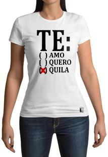 Camiseta Hunter Te Amo Branca