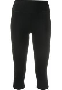 Filippa K Soft Sport Legging Cropped Com Stretch - Preto
