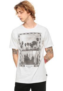 a717b5c4dc Camiseta Quiksilver Mirror Image Off-White