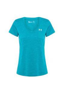 Camiseta Feminina Tech Twist Latam - Azul