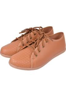 afbc925508 Oxford Romântica Calçados Caramelo