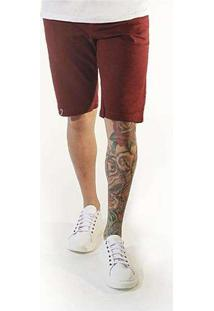 Bermuda Jeans Masculina Sandro Moscoloni Basic Vin