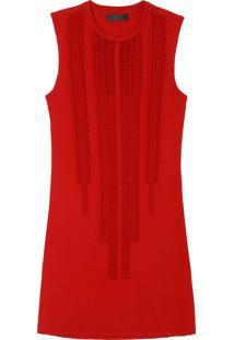 Vestido Talie Nk Flamê Breda - Vermelho