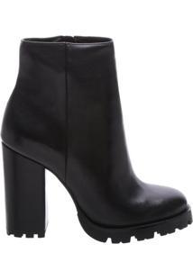 Bota Block Heel Tratorada Black | Schutz