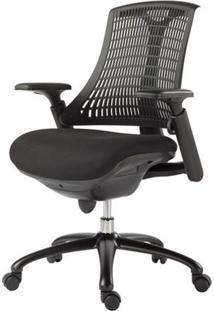 Cadeira Office Soria Preta Com Rodizios - 27720 - Sun House