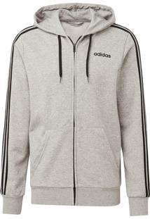 Jaqueta Adidas E 3S Fz Ft Cinza
