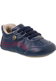 Sapato Bebê Masculino Klin Algodão Doce Elástico - Masculino