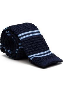 Gravata Tricot Light Blue