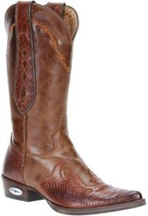 Bota Courotexana Cow Way Masculina - Masculino-Marrom