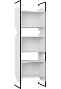 Estante Para Livros 3 Nichos 1006 Branco - Bentec