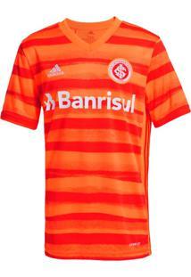 Camisa Infantil Adidas Internacional 3 2020 Menino Laranja/Vermelho - 8