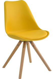 Cadeira Luisa Amarela Rivatti Móveis