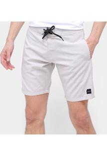Bermuda Oakley O-Rec Masculina - Masculino-Off White