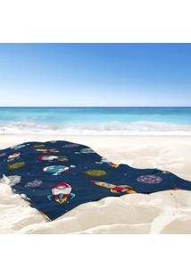 Toalha De Praia / Banho Nave Espacial