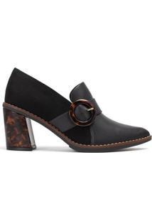 Sapato Sapato Slipper Salto Alto Feminino - Feminino