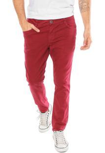 412e61680 Calça Cintura Media Vinho masculina | Shoes4you