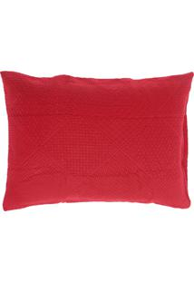 Porta Travesseiro Buddemeyer Essence Vermelho
