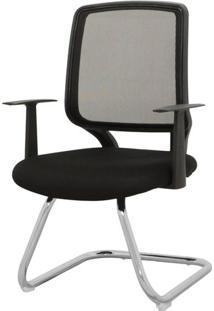 Cadeira Avila Fixa Preta 93 Cm (Alt) - 43438 - Sun House