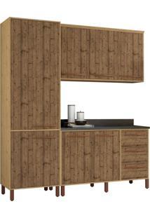 Cozinha Compacta Do Lar 7 Pt 3 Gv Pinus Natural E Pinus Real