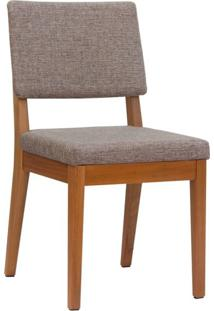 Cadeira De Jantar Ella Alpha E Natural