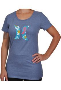 Camiseta Hurley Flower - Feminino