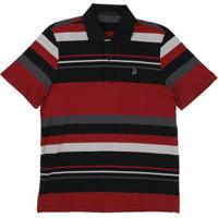 fb1d49b06d Camisa Polo Piquet Listrada Tassa Masculina - Masculino-Vermelho