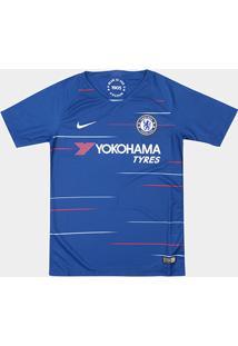 Camisa Chelsea Infantil Home 2018 S/N° Torcedor Nike - Masculino