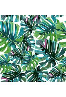 Papel De Parede Adesivo Folhas De Palmeira Tropical (0,58M X 2,50M)