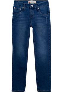Calça Jeans Levis 512 Slim Taper Infantil - 12