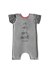 Pijama Curto Comfy Bike