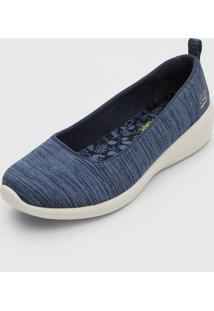 Slipper Skechers Arya Different Edge Azul