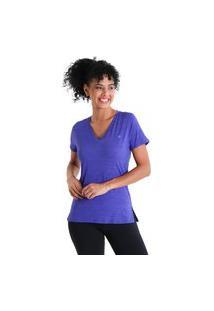 Camiseta Gola V Energy - Roxo - Líquido