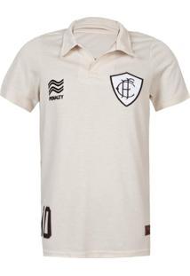 Camisa Infantil Penalty Figueirense Raízes 2013 Juv Bege
