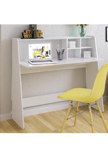 Mesa Para Computador De Estudo Ideia Branco - Colibri Móveis