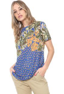 Camiseta Cantão Adão Azul