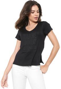 Camiseta Morena Rosa Make Today Amazing Preta