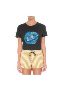 Camiseta Forseti Confort Navegante Preta
