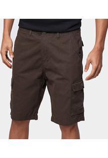 Bermuda Quiksilver Walk Cargo Premium Masculina - Masculino