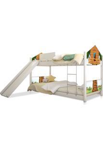 Beliche Prime Casa Juvenil Casa Na ÁRvore Com Escorregador Casah - Multicolorido - Dafiti