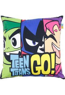 Capa Para Almofada Teen Titans Go®- Vede Claro & Rosa